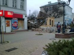 Обрушилось здание на улице Советской в Бресте: погибла женщина