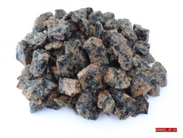 Гравий для аквариума натуральный черный (2-5 мм) 2 кг