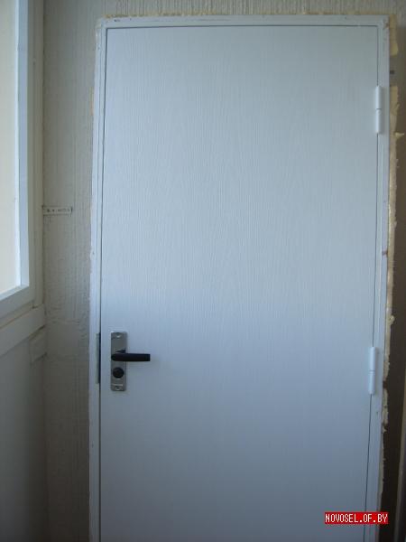 установка входной двери в новостройке