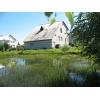 Дом с природным водоемом в Заславле
